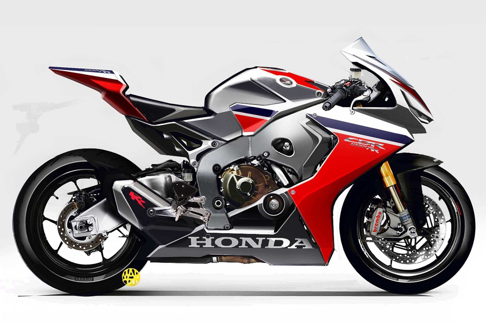 44 All New 2019 Honda Cbr1000Rr Concept by 2019 Honda Cbr1000Rr