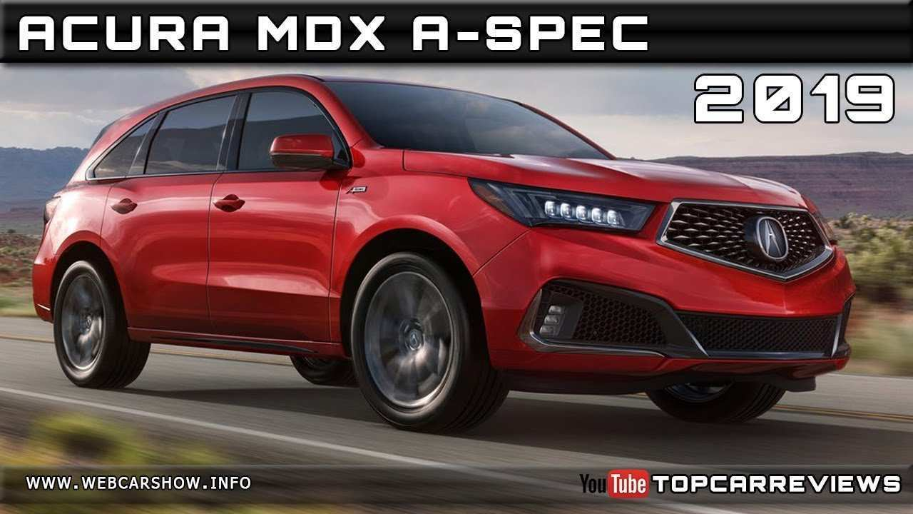 44 Concept of 2019 Acura Mdx Release Date Configurations by 2019 Acura Mdx Release Date