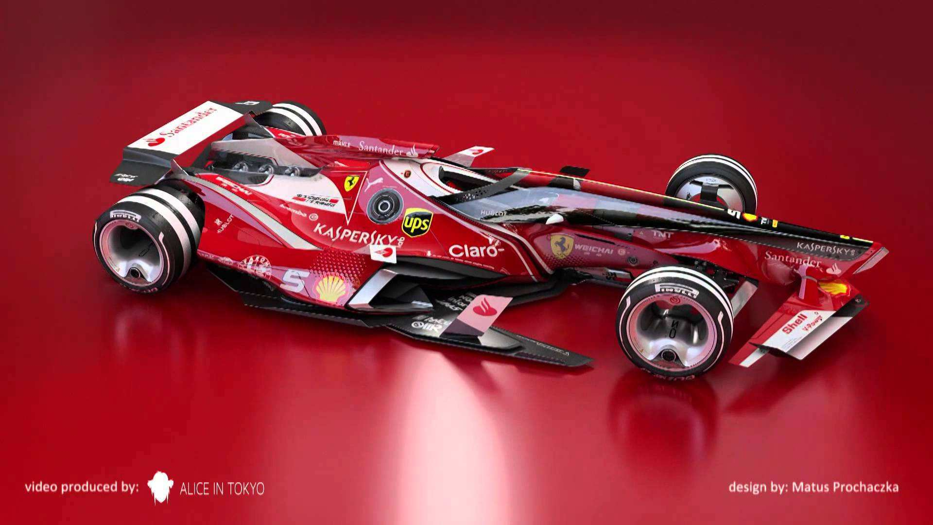 44 Concept of Toyota F1 2020 Model with Toyota F1 2020