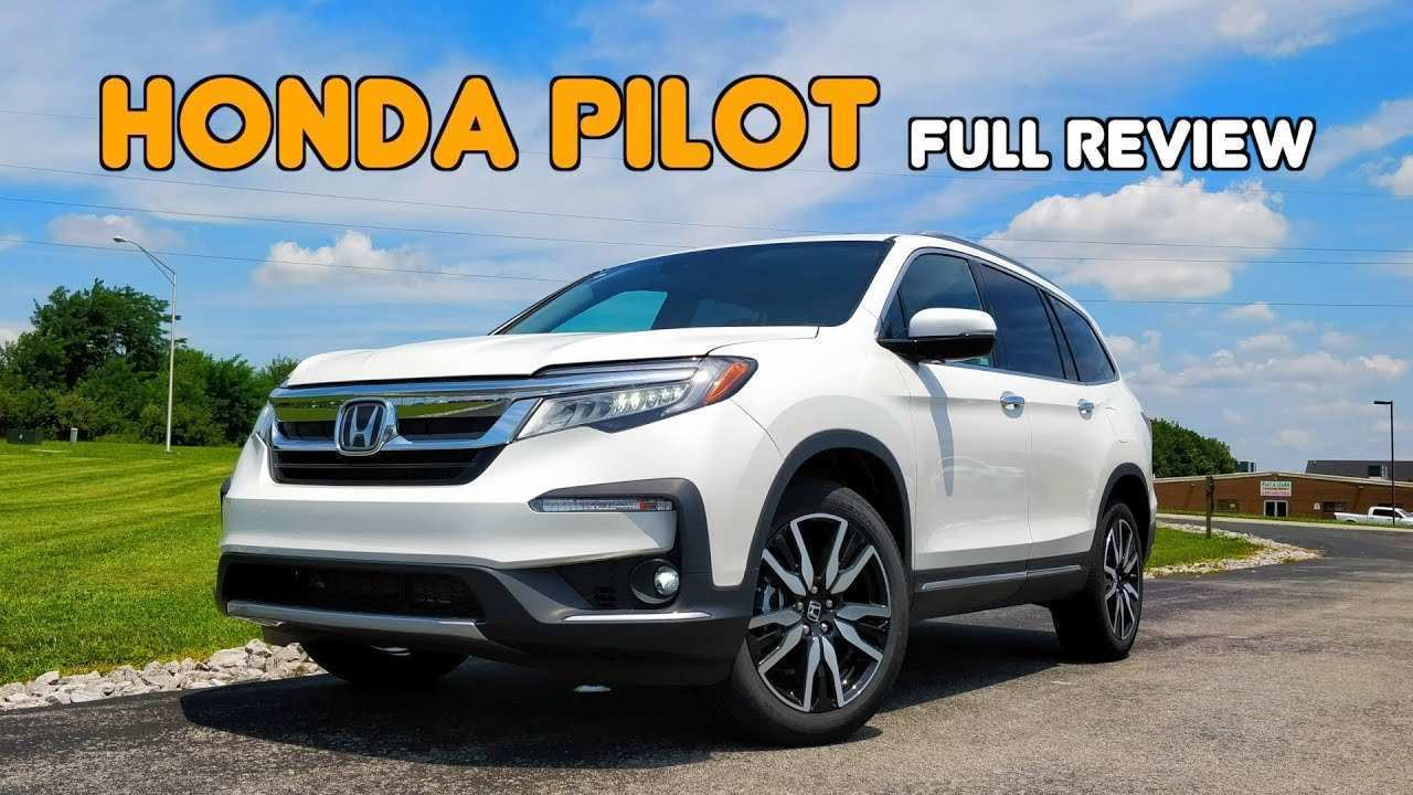 44 Gallery of 2019 Honda Pilot Review Redesign by 2019 Honda Pilot Review