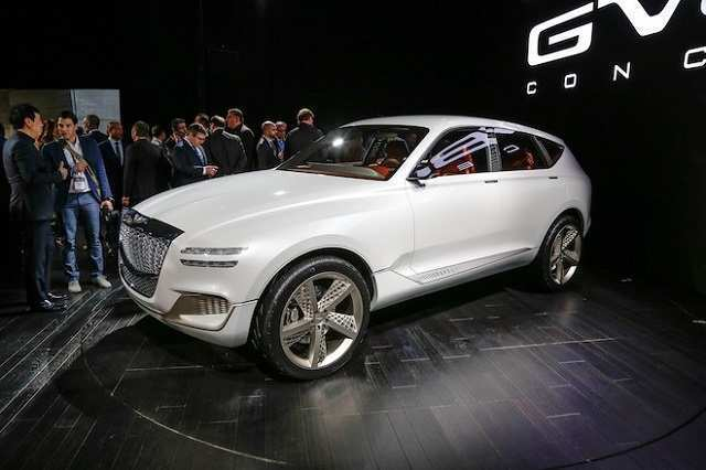 44 The 2019 Genesis Gv80 Concept for 2019 Genesis Gv80