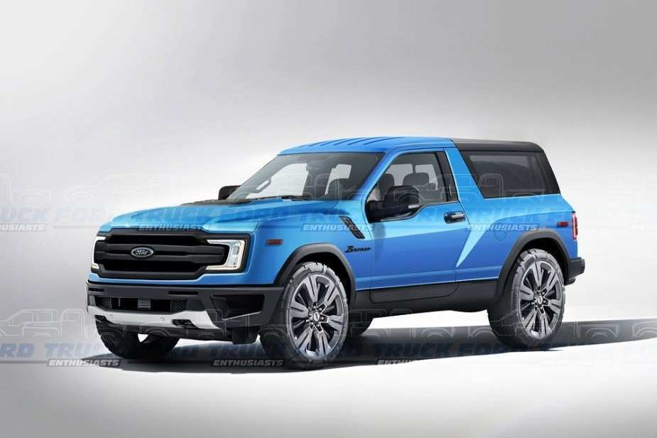 44 The 2020 Ford Bronco Official Pictures Speed Test with 2020 Ford Bronco Official Pictures