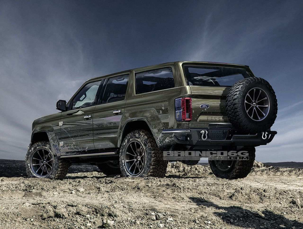 44 The 2020 Ford Bronco Raptor Redesign and Concept by 2020 Ford Bronco Raptor