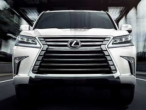 45 All New 2019 Lexus Lx Spy Shoot by 2019 Lexus Lx
