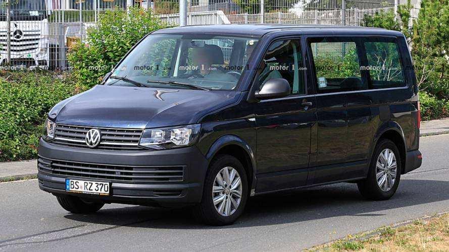 45 All New Volkswagen Transporter 2020 Spy Shoot for Volkswagen Transporter 2020