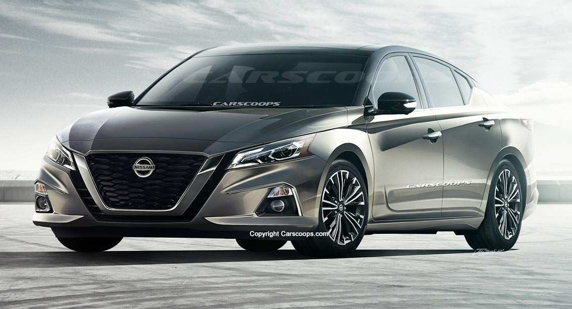45 Concept of 2019 Nissan Altima Spy Shots Exterior with 2019 Nissan Altima Spy Shots