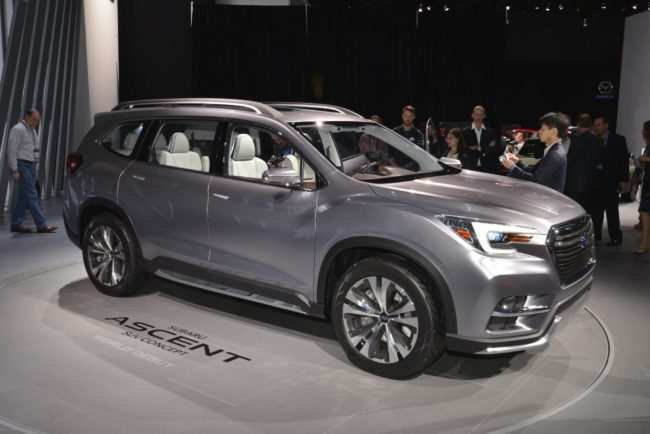 45 Concept of 2019 Subaru Ascent Release Date Redesign and Concept by 2019 Subaru Ascent Release Date