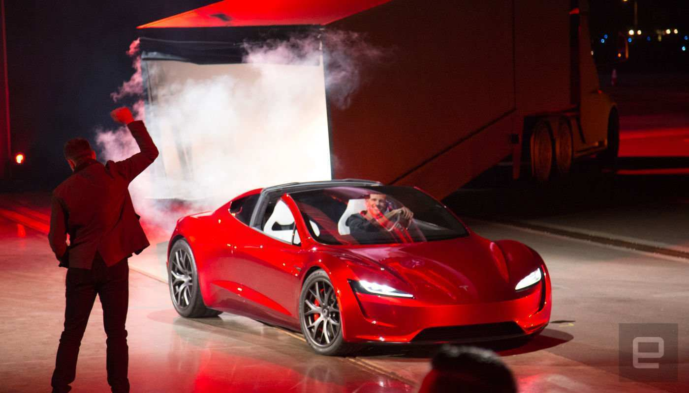 45 Concept of 2020 Tesla Roadster Weight 2 Spy Shoot by 2020 Tesla Roadster Weight 2