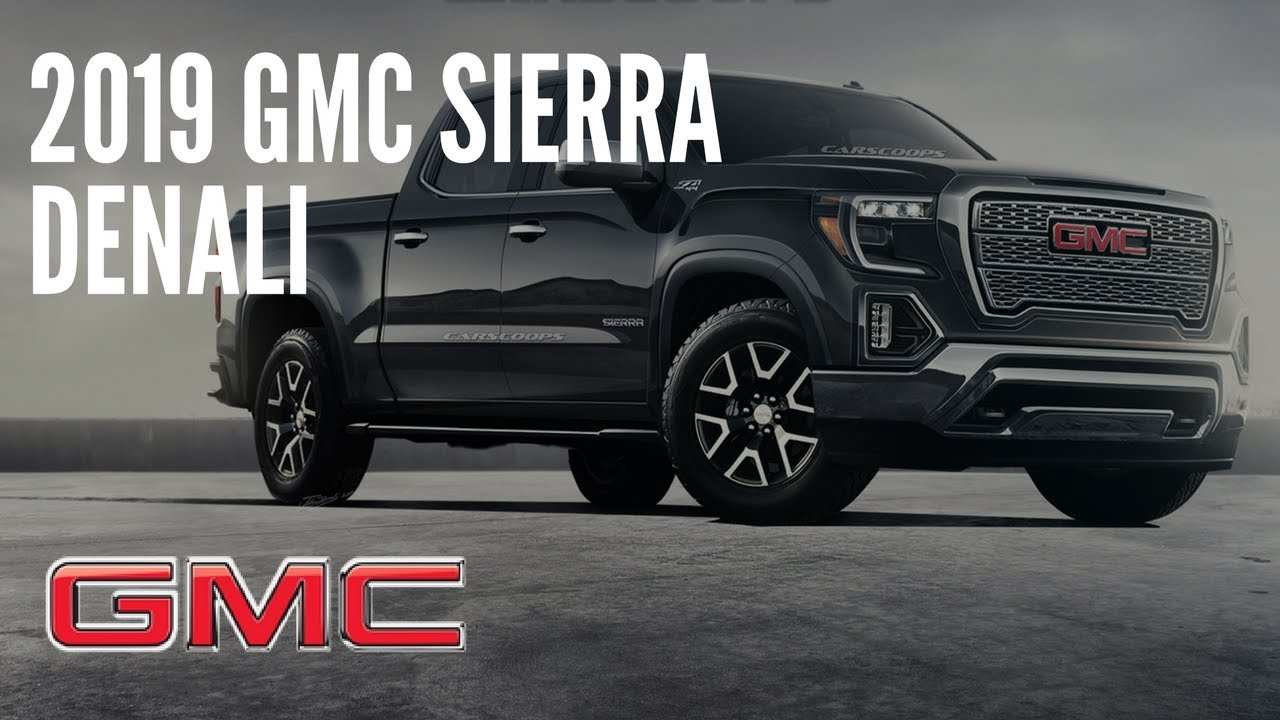 45 Great 2019 Gmc Release Redesign and Concept with 2019 Gmc Release