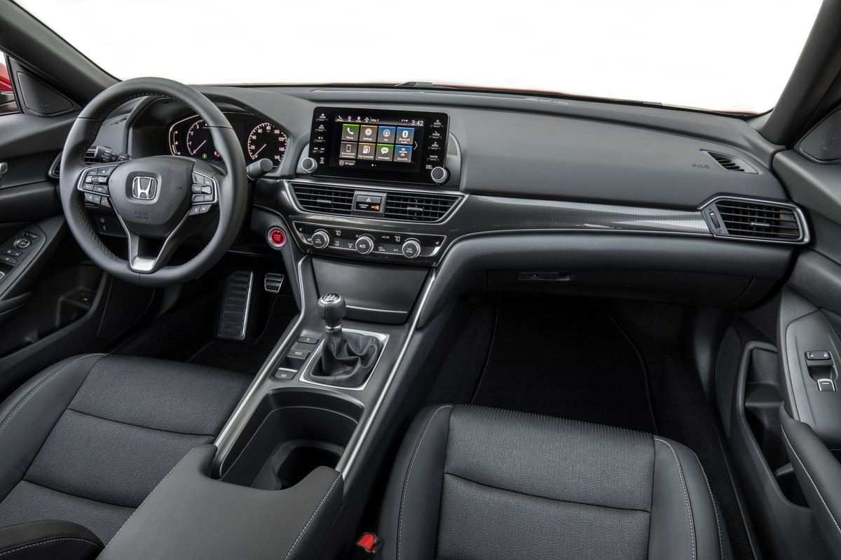 45 Great 2019 Honda Accord Interior Model with 2019 Honda Accord Interior