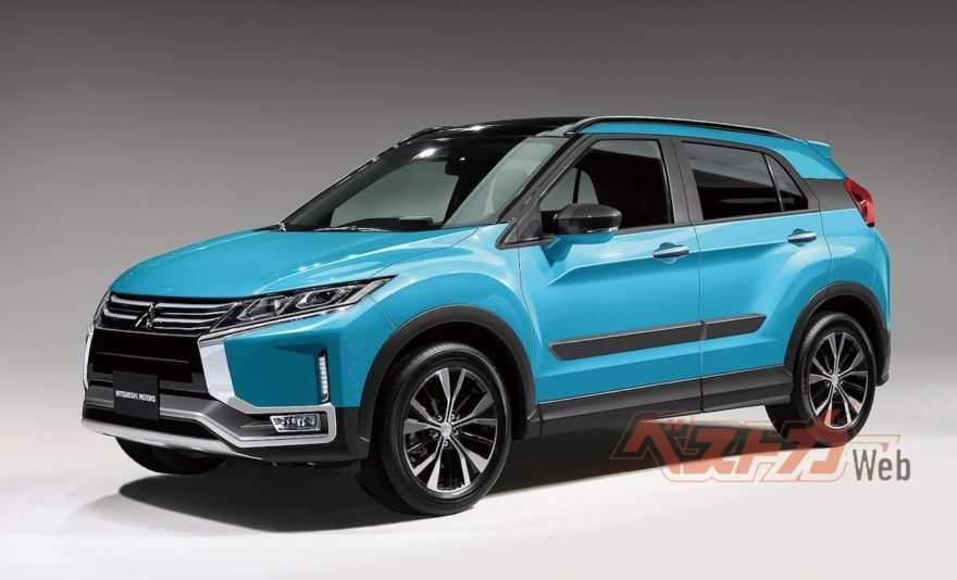 45 Great 2019 Mitsubishi Crossover Specs with 2019 Mitsubishi Crossover