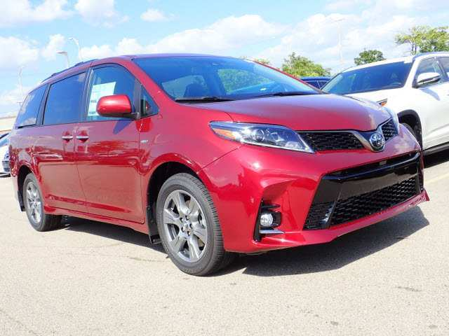 45 Great 2019 Toyota Sienna Se Price and Review by 2019 Toyota Sienna Se