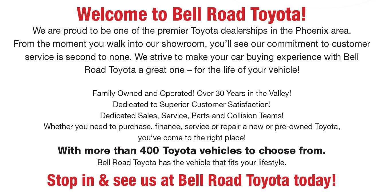 45 Great Bell Road Toyota 2020 W Bell Rd Phoenix Az 85023 Pricing for Bell Road Toyota 2020 W Bell Rd Phoenix Az 85023