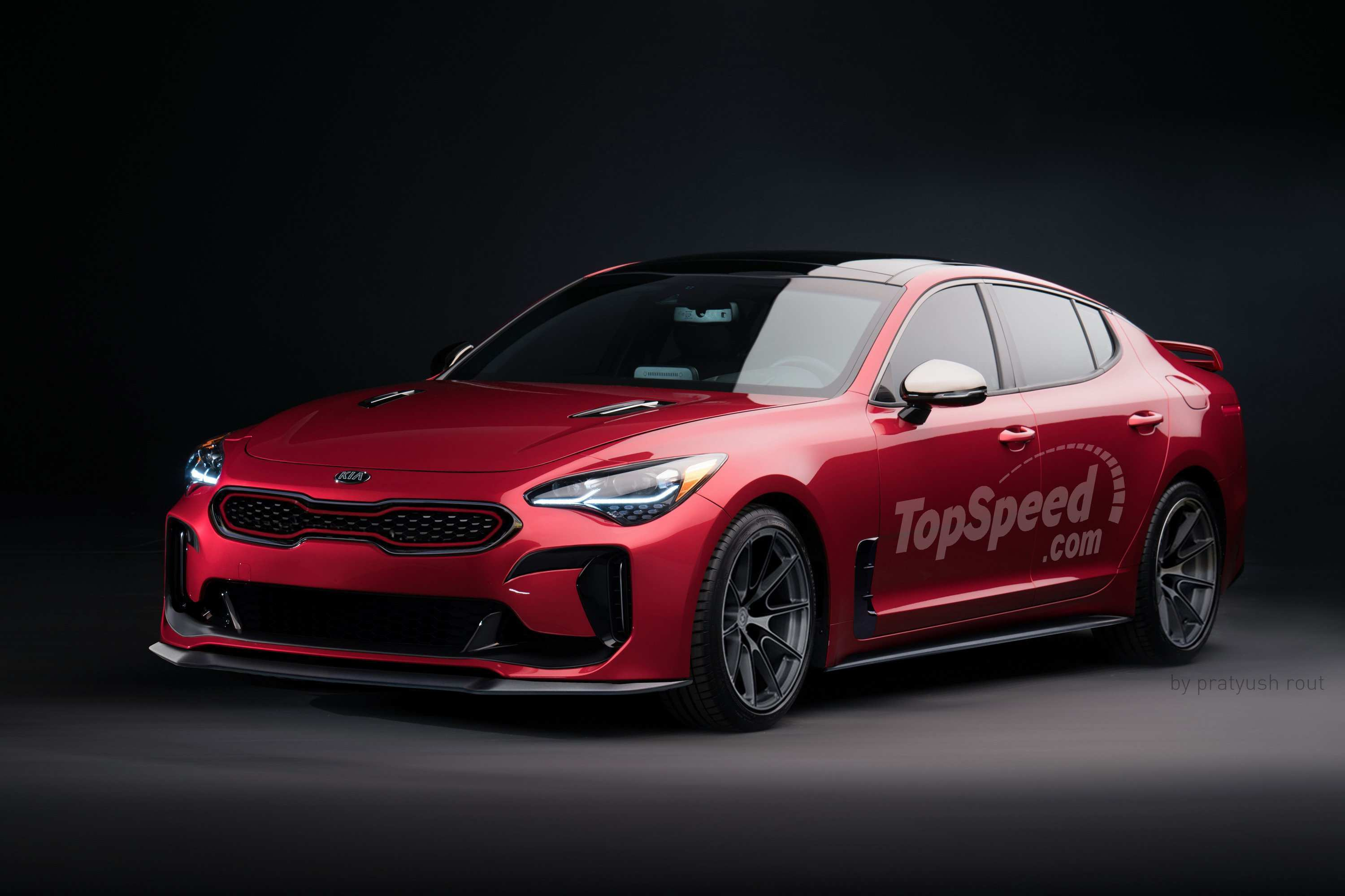 45 New 2019 Kia Stinger Concept by 2019 Kia Stinger