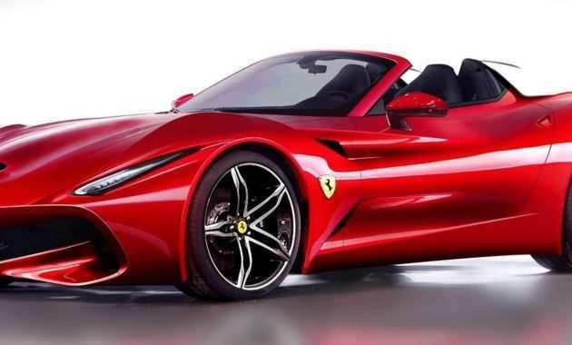 45 The 2019 Ferrari Convertible Redesign by 2019 Ferrari Convertible