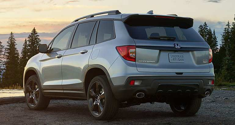 45 The 2019 Honda Passport Reviews Wallpaper with 2019 Honda Passport Reviews