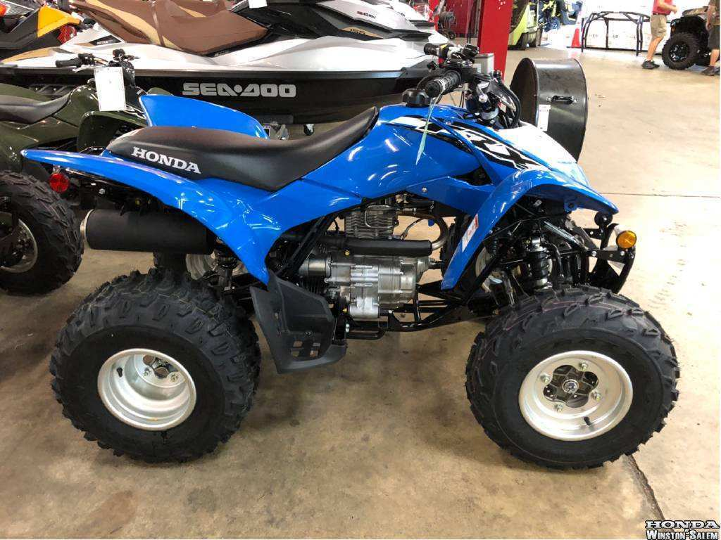 45 The 2019 Honda Trx250X Model with 2019 Honda Trx250X