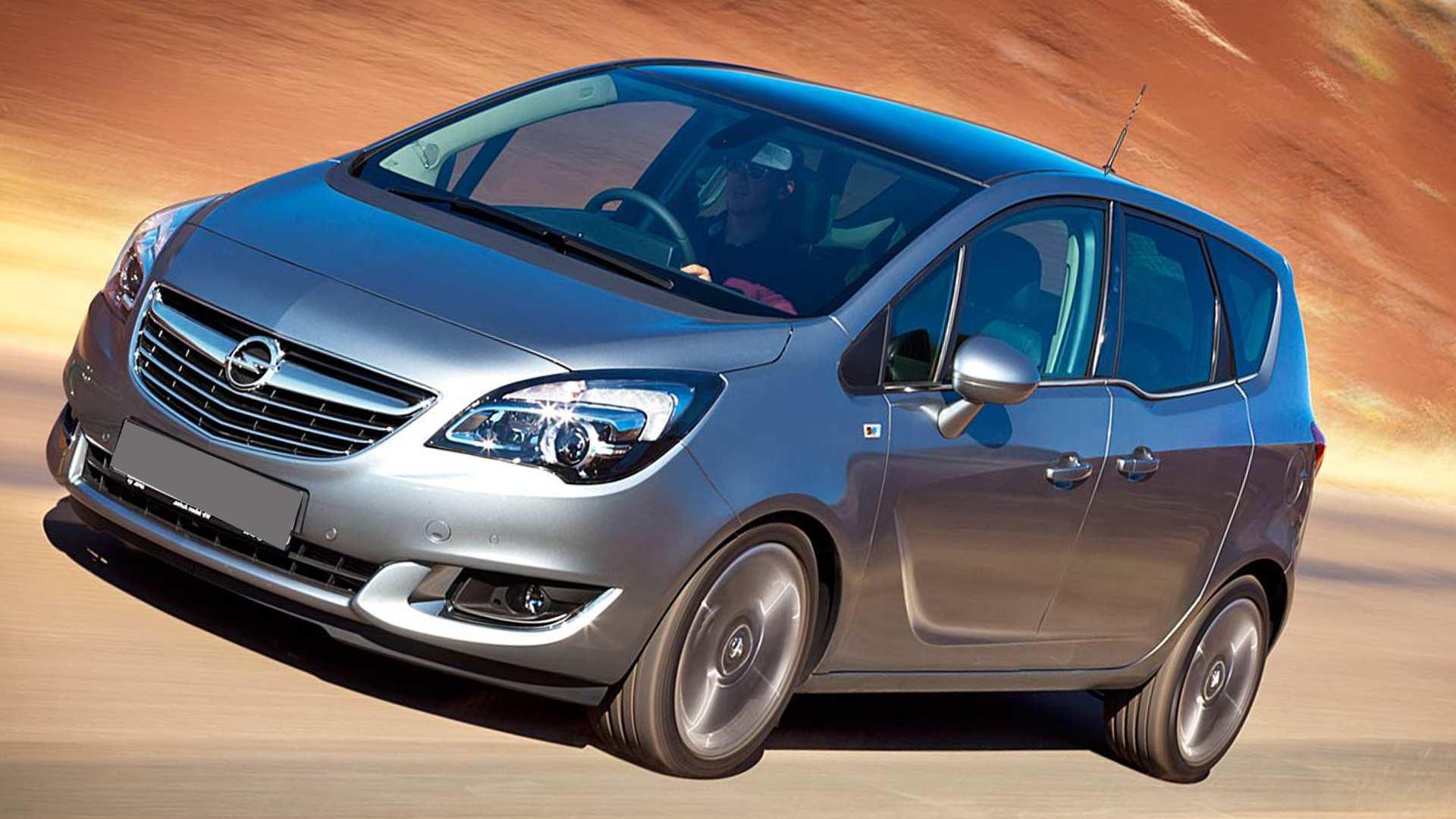 45 The Opel Meriva 2019 Photos by Opel Meriva 2019