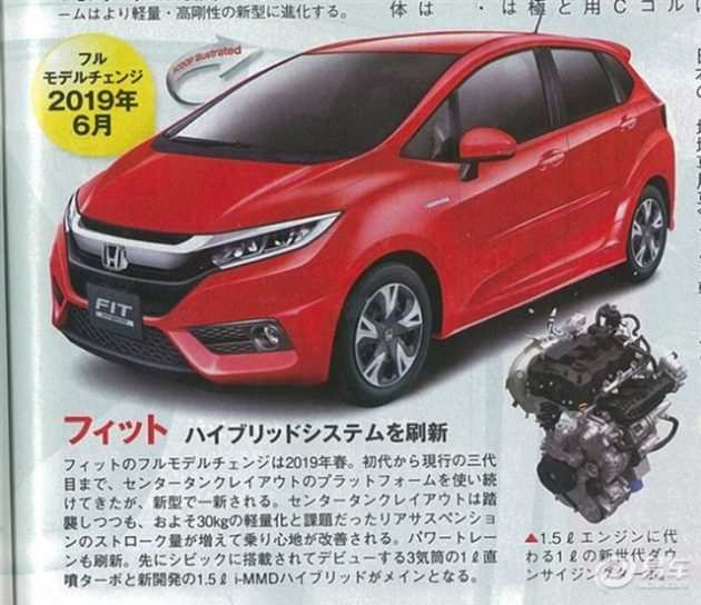 46 All New 2019 Honda Jazz Concept with 2019 Honda Jazz
