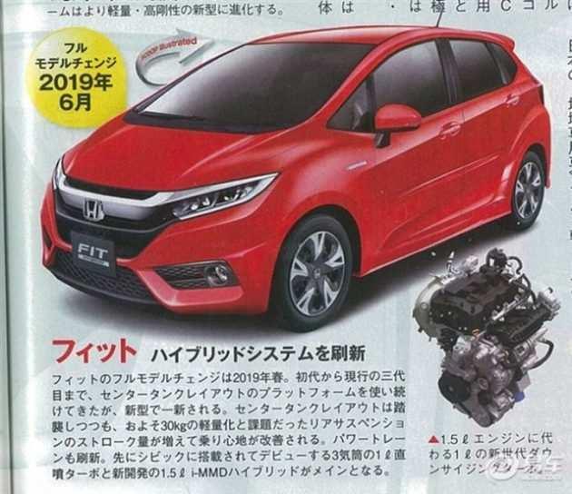 46 All New 2019 Honda Jazz Concept with 2019 Honda Jazz