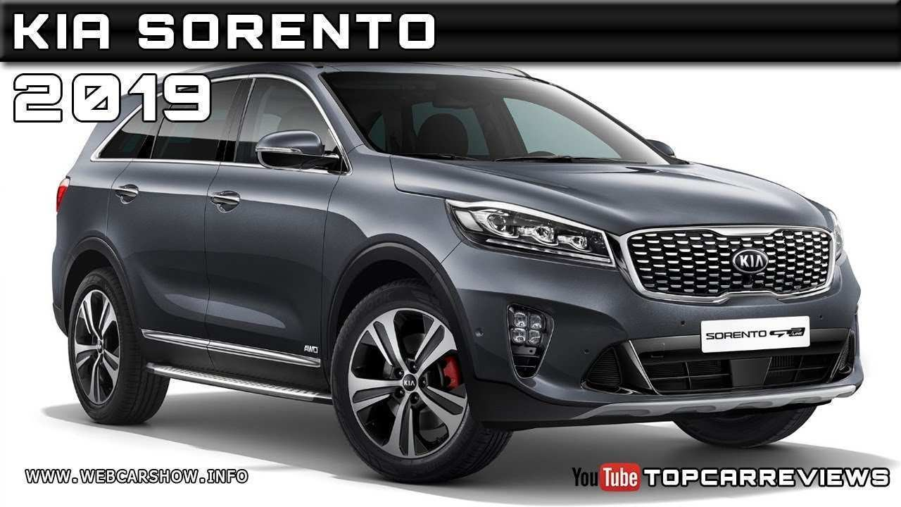 46 All New 2019 Kia Sorento Review Performance by 2019 Kia Sorento Review