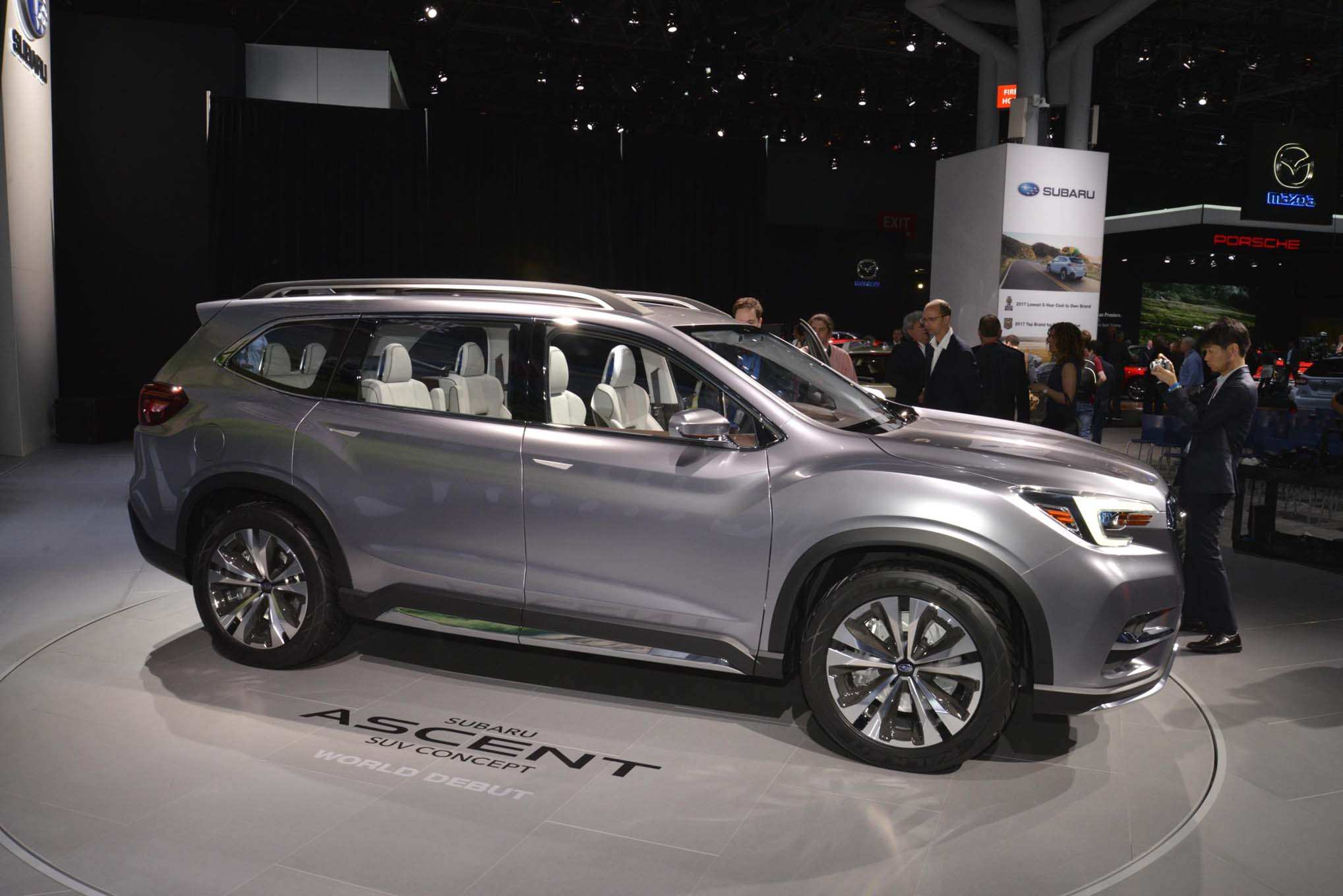 46 All New 2019 Subaru Ascent Release Date Release Date for 2019 Subaru Ascent Release Date