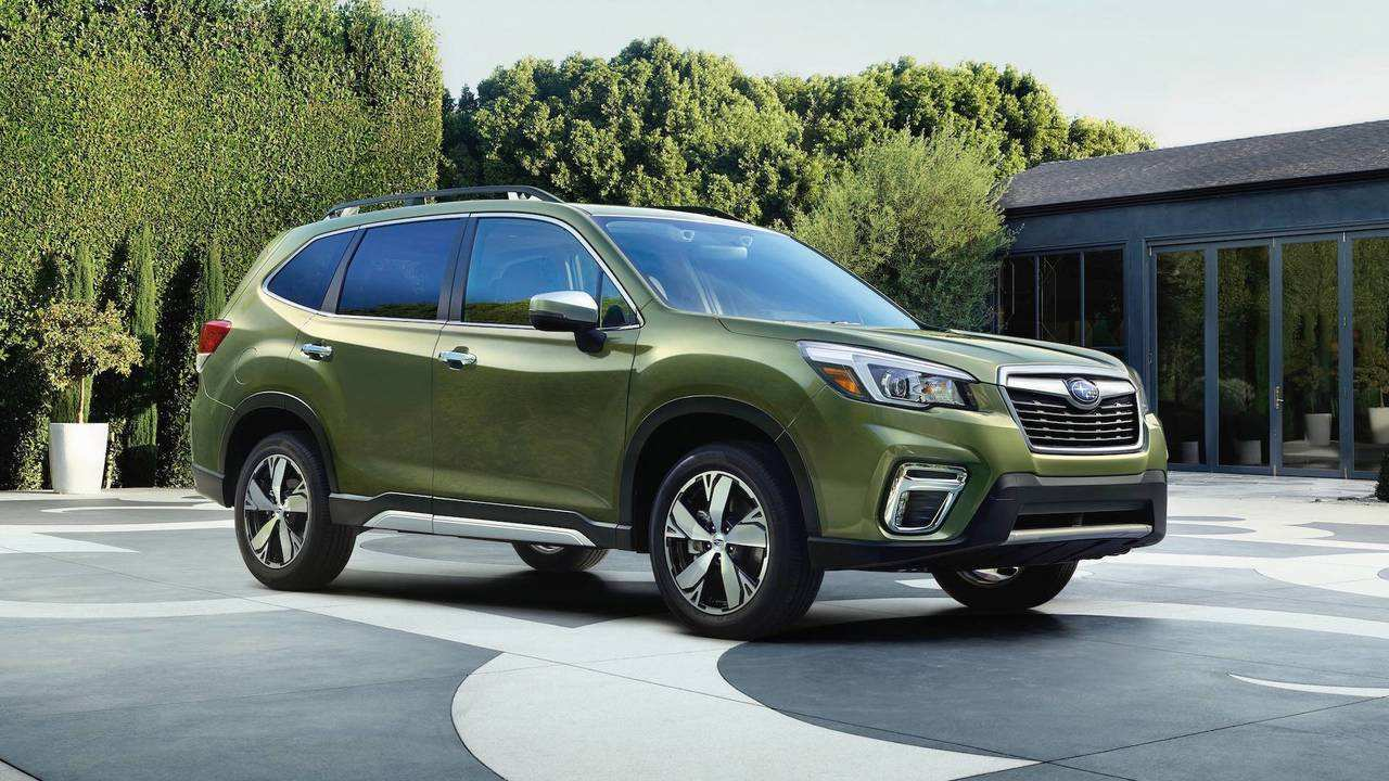 46 All New 2019 Subaru Forester Design Release with 2019 Subaru Forester Design