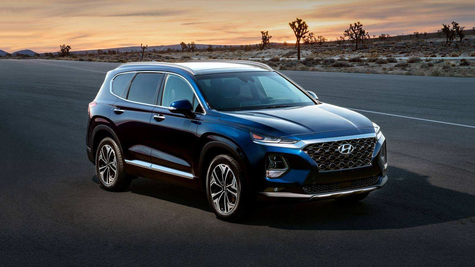 46 Best Review 2019 Hyundai Santa Fe Interior Speed Test for 2019 Hyundai Santa Fe Interior