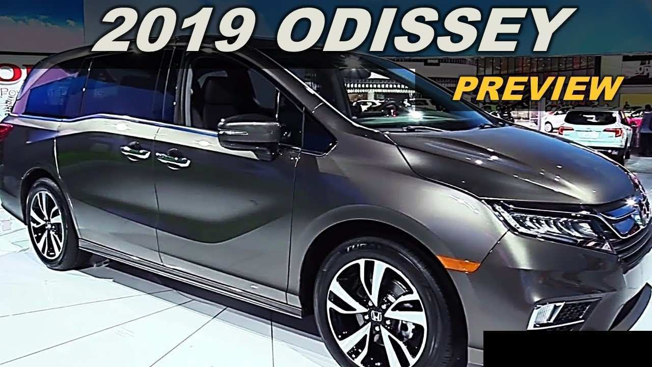 46 Best Review Honda Odyssey 2019 Australia New Concept for Honda Odyssey 2019 Australia