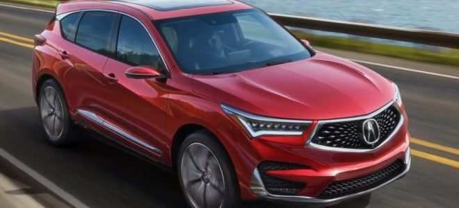 46 Great 2019 Acura Rdx Changes Speed Test by 2019 Acura Rdx Changes