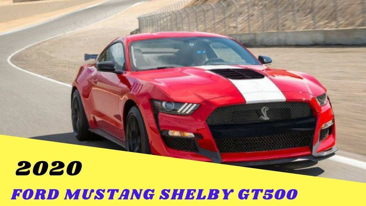 46 Great 2020 Ford Shelby Gt500 Price Pricing with 2020 Ford Shelby Gt500 Price