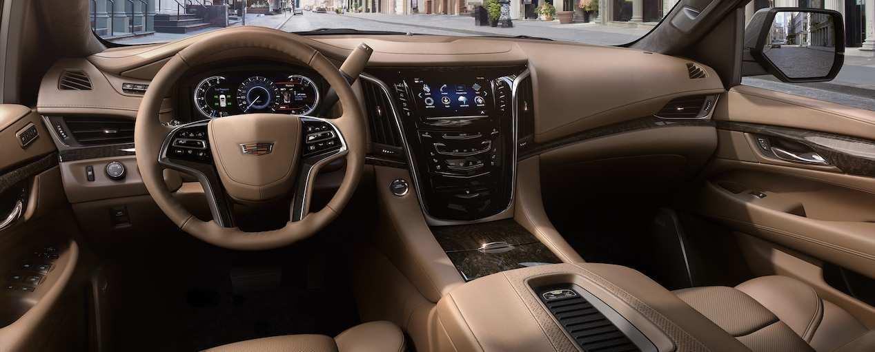 46 The 2019 Cadillac Escalade Interior Overview by 2019 Cadillac Escalade Interior