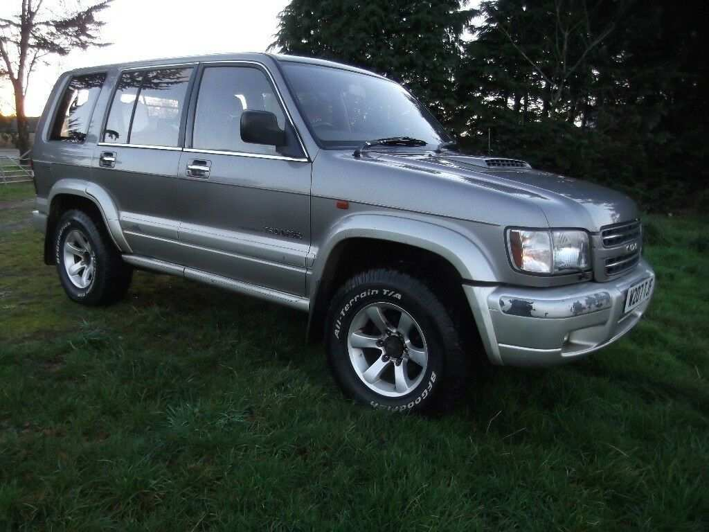 46 The 2019 Isuzu Trooper Redesign and Concept with 2019 Isuzu Trooper