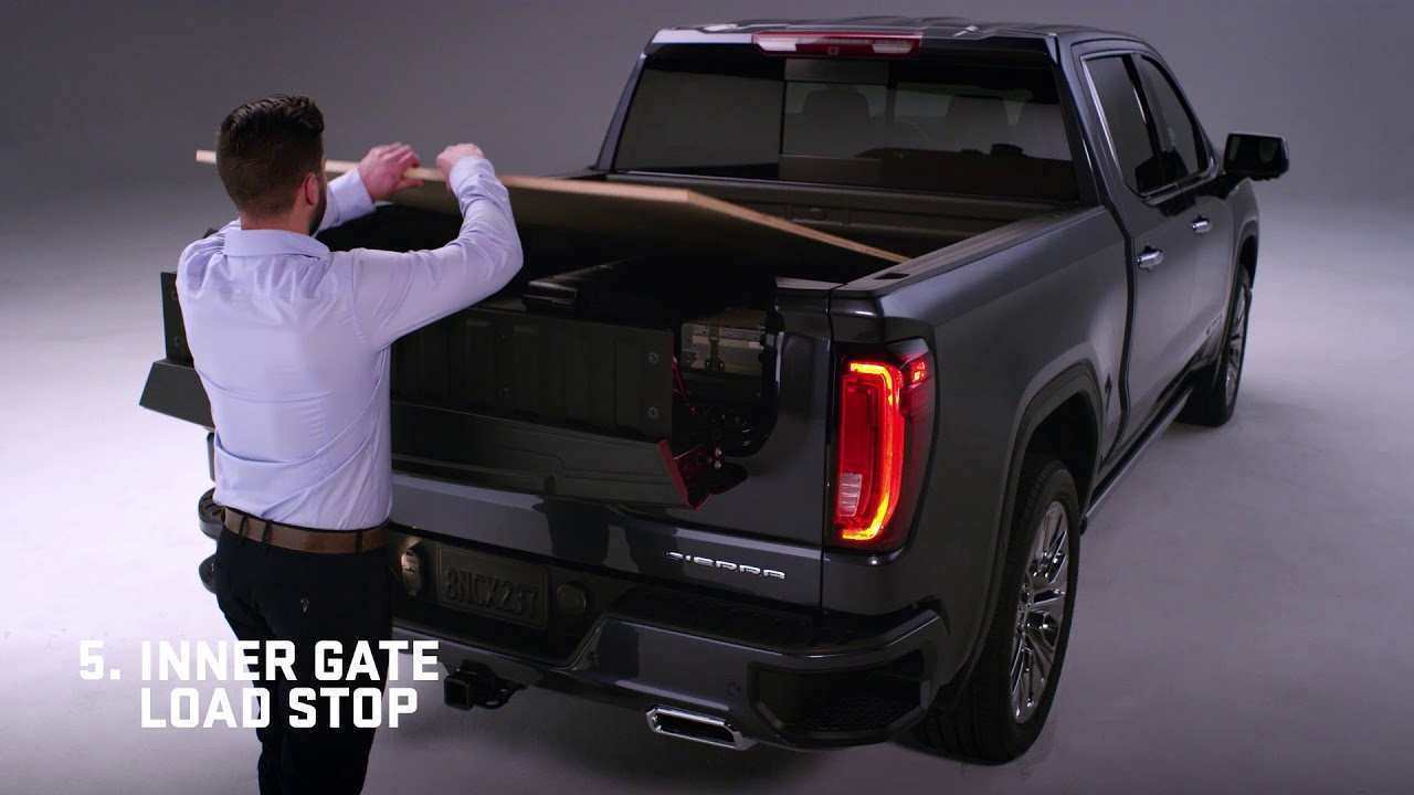 47 All New 2019 Gmc New Tailgate Specs by 2019 Gmc New Tailgate