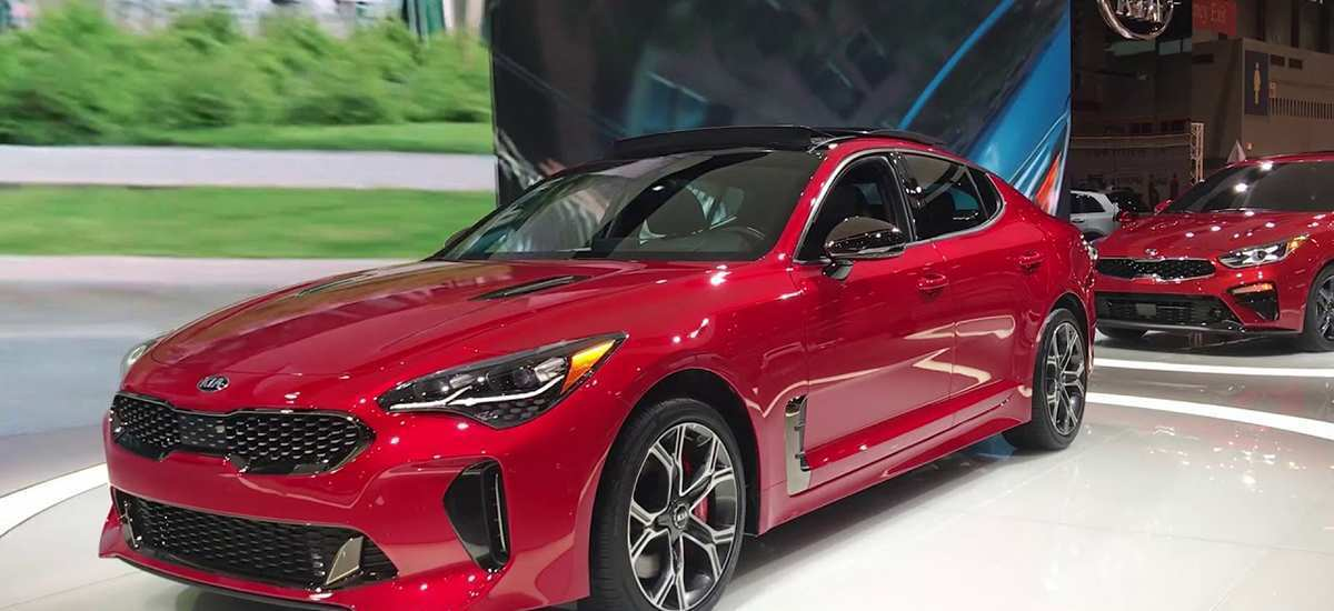 47 Gallery of 2019 Kia Stinger Gt Plus Exterior and Interior for 2019 Kia Stinger Gt Plus