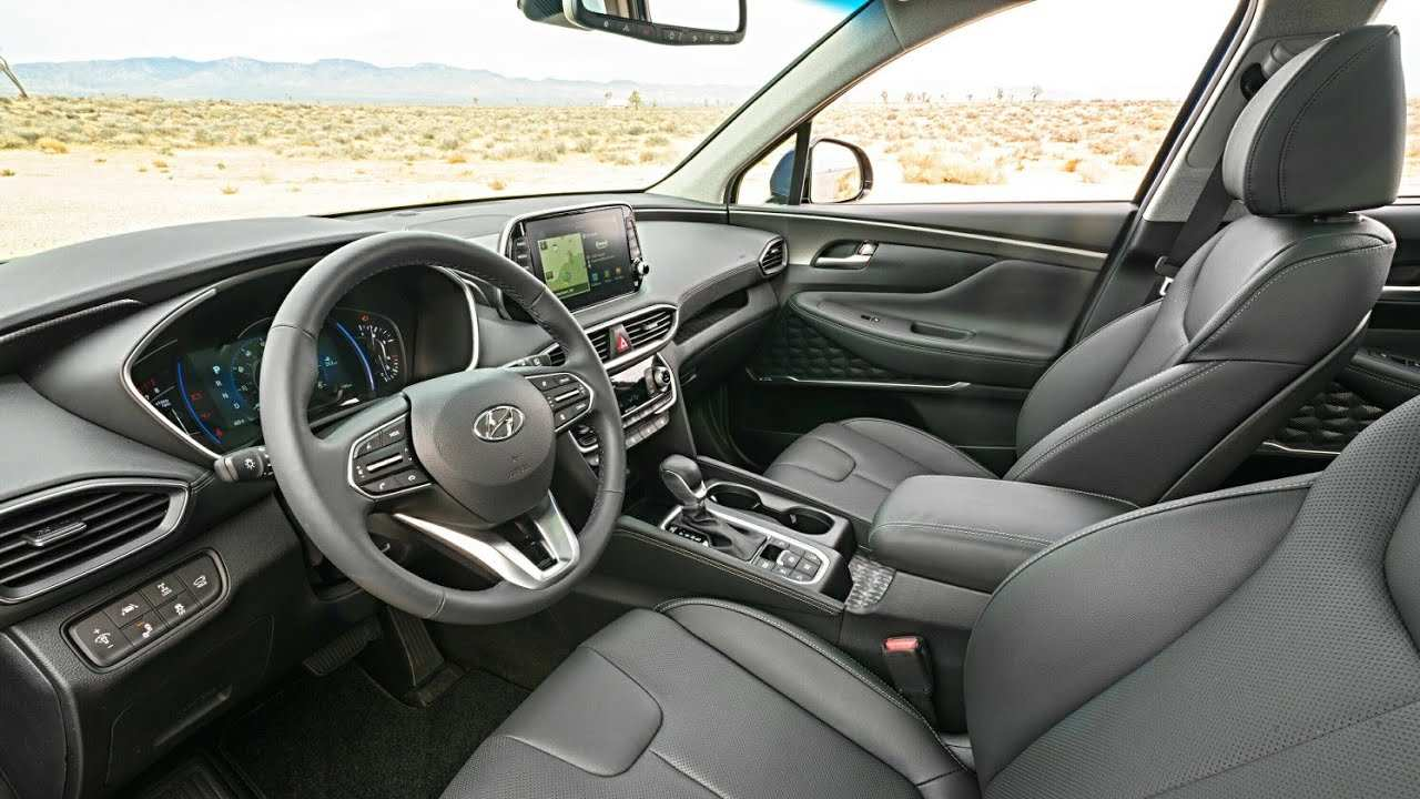 47 The 2019 Hyundai Santa Fe Interior Release with 2019 Hyundai Santa Fe Interior