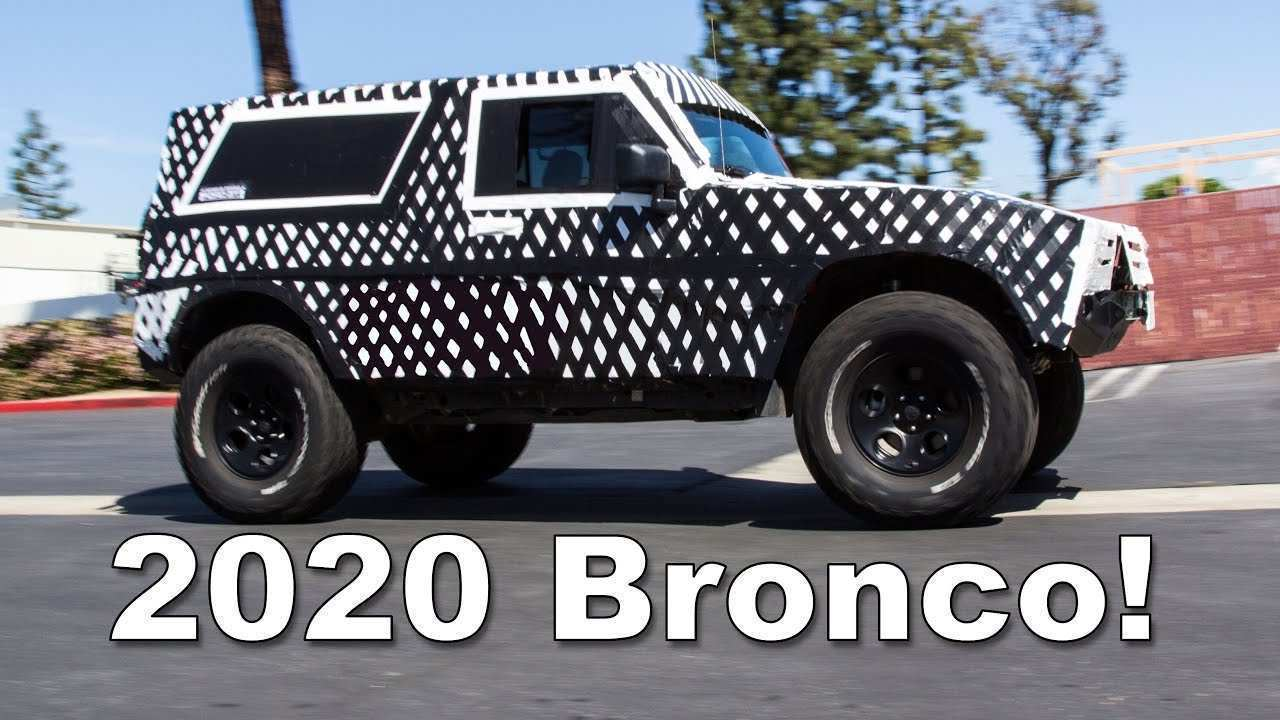 48 All New 2020 Ford Bronco Official Pictures Specs for 2020 Ford Bronco Official Pictures