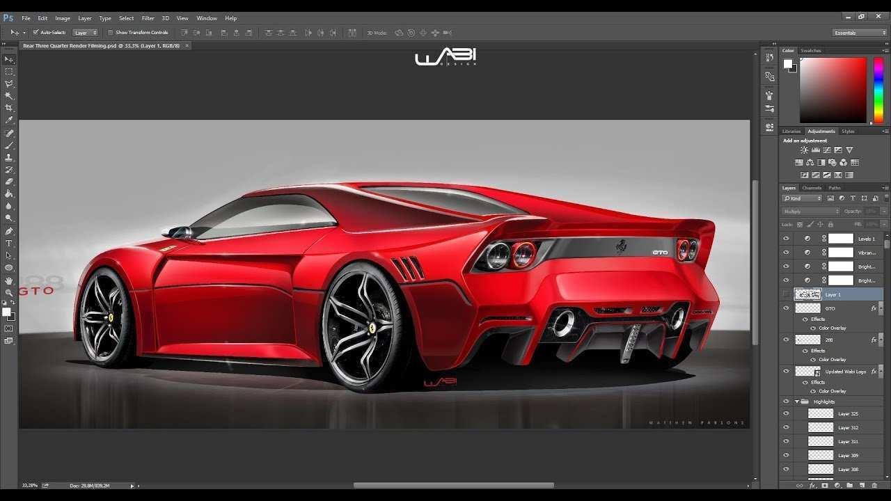 48 Concept of 2020 Ferrari 288 Gto Interior by 2020 Ferrari 288 Gto