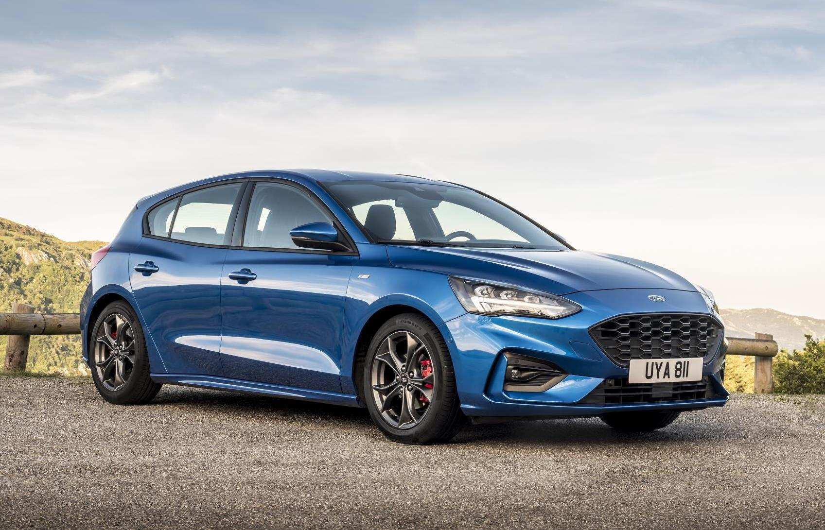 48 Great 2019 Ford Focus St Line Spy Shoot with 2019 Ford Focus St Line