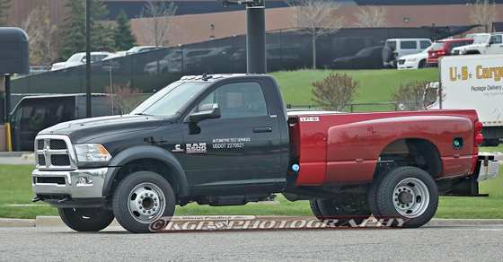 48 New 2019 Dodge 5500 Spy Shoot with 2019 Dodge 5500