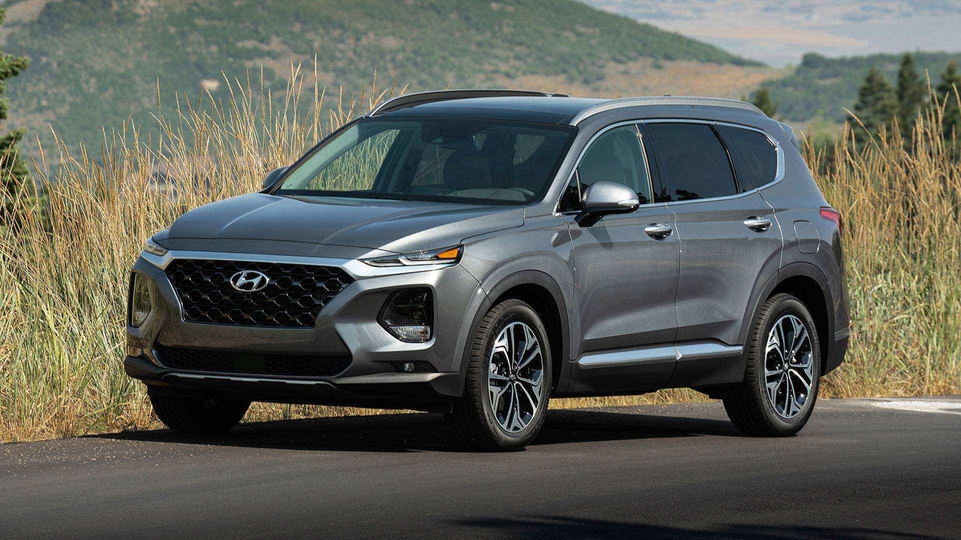 48 New 2019 Hyundai Santa Fe Test Drive Interior for 2019 Hyundai Santa Fe Test Drive