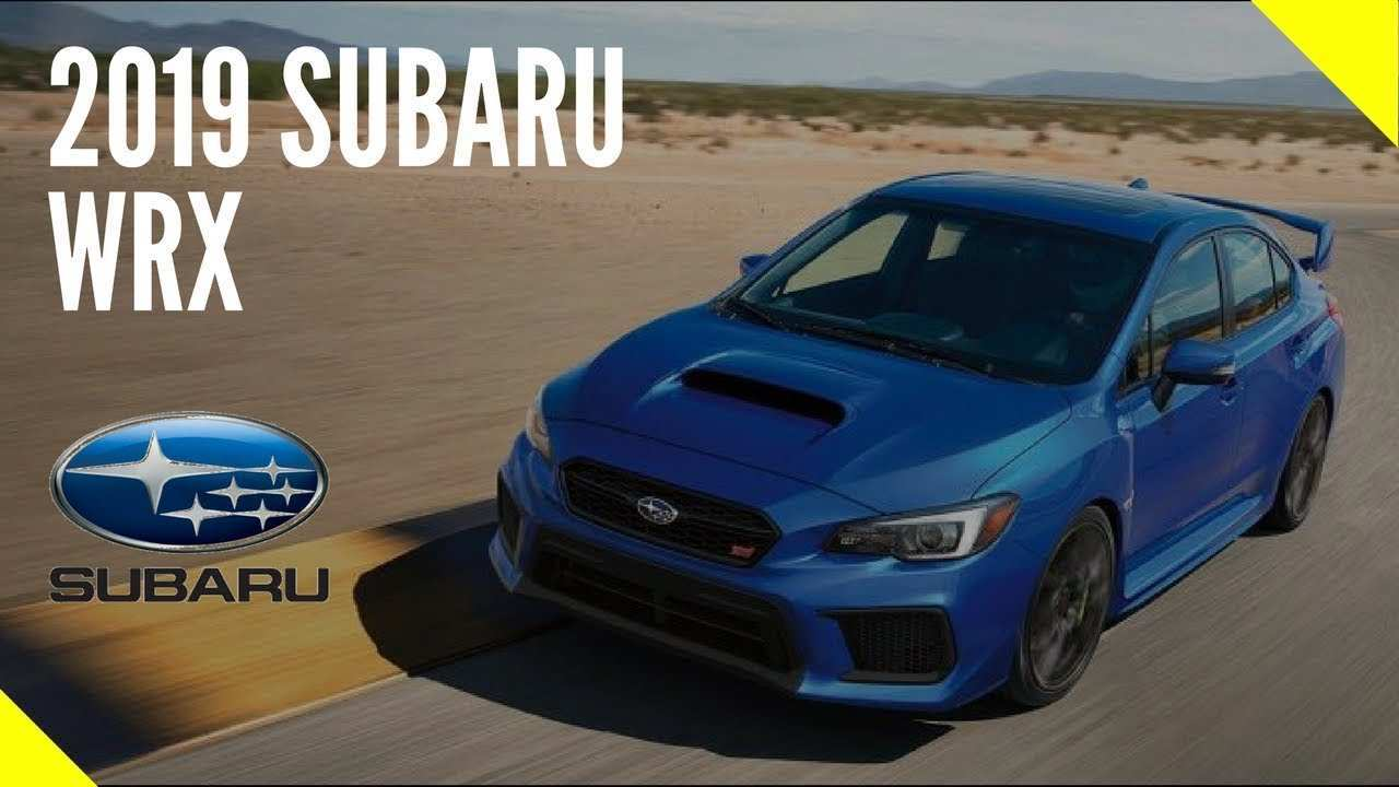 48 New 2019 Subaru Sti Review Specs and Review by 2019 Subaru Sti Review