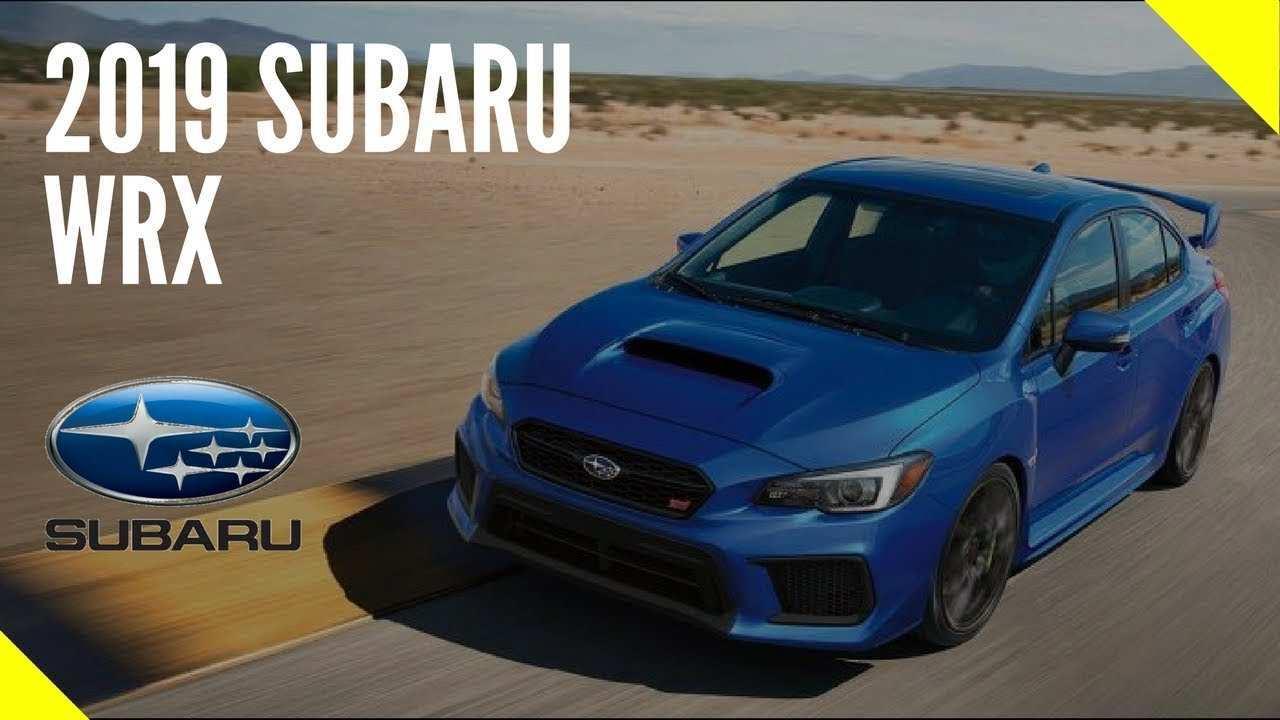 48 New 2019 Subaru Sti Review Specs and Review by 2019 Subaru Sti Review