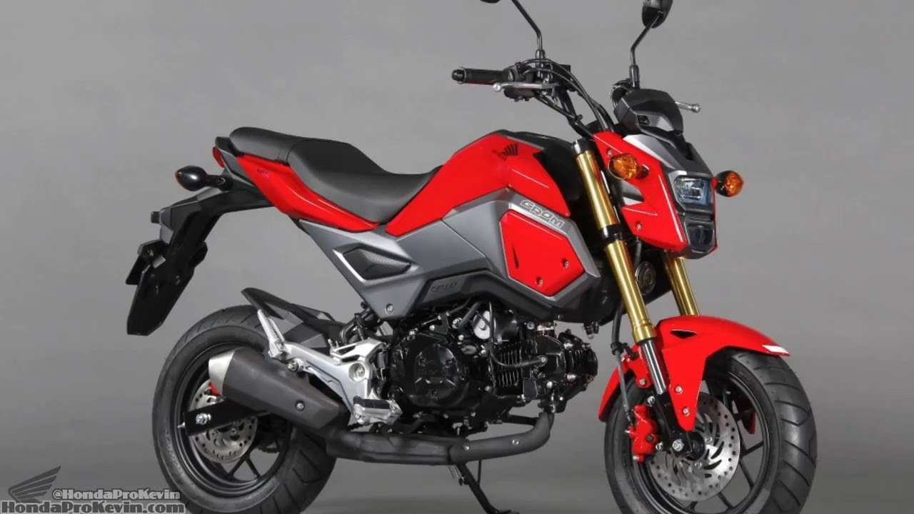49 Best Review 2019 Honda Grom Specs Performance and New Engine for 2019 Honda Grom Specs