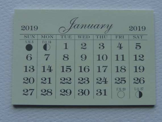 49 Concept of 2019 Mini Tear Off Calendar Redesign for 2019 Mini Tear Off Calendar