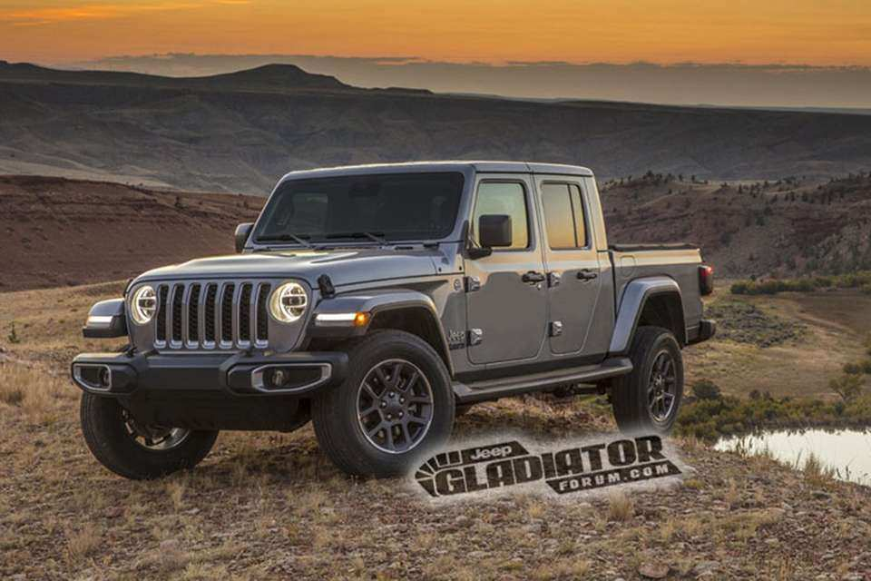 49 Gallery of 2019 Jeep Gladiator Overview for 2019 Jeep Gladiator