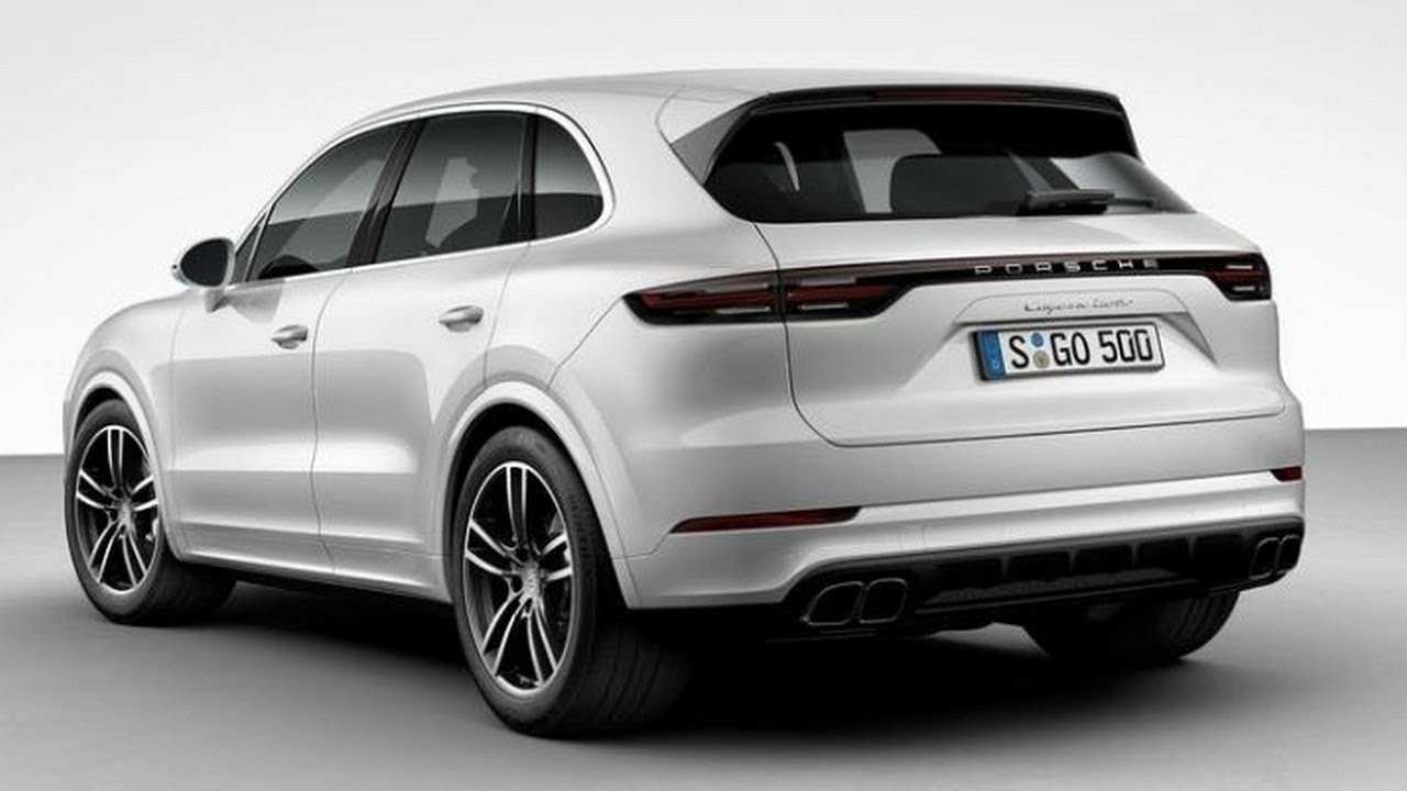 49 New 2019 Porsche Cayenne Turbo Review Exterior with 2019 Porsche Cayenne Turbo Review