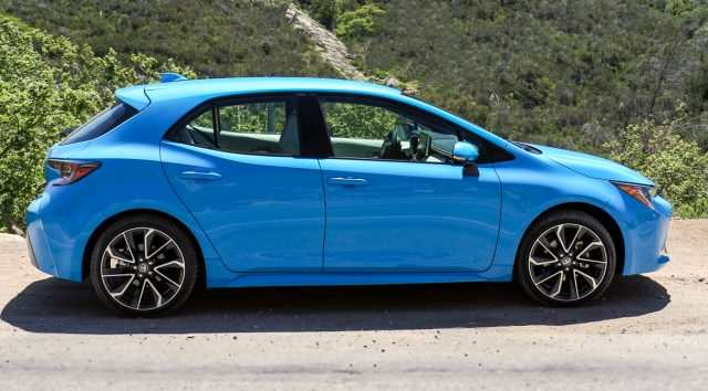 49 The 2019 Toyota Corolla Hatchback Review Rumors by 2019 Toyota Corolla Hatchback Review