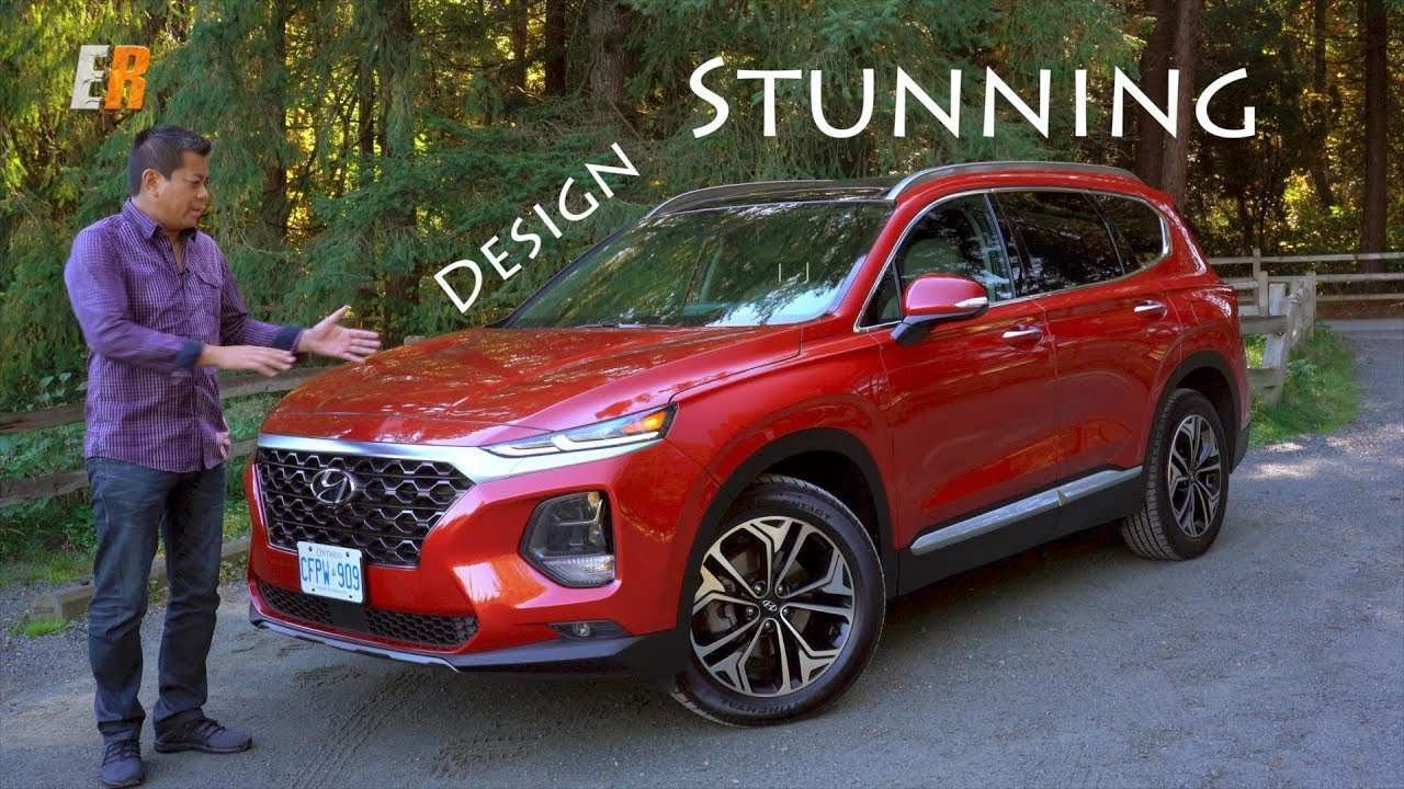 50 Concept of 2019 Hyundai Santa Fe Test Drive Exterior by 2019 Hyundai Santa Fe Test Drive