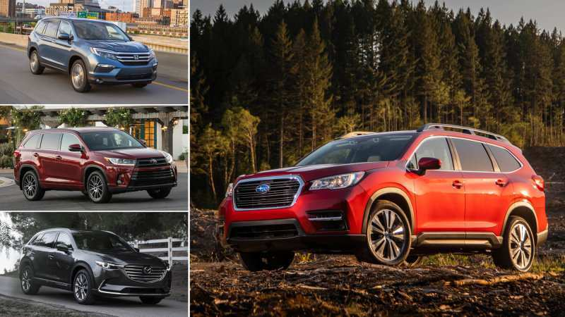 50 Great 2019 Subaru Ascent Vs Honda Pilot Vs Toyota Highlander Reviews with 2019 Subaru Ascent Vs Honda Pilot Vs Toyota Highlander